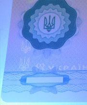 Диплом - свечение УФ (Каменское (Днепродзержинск))